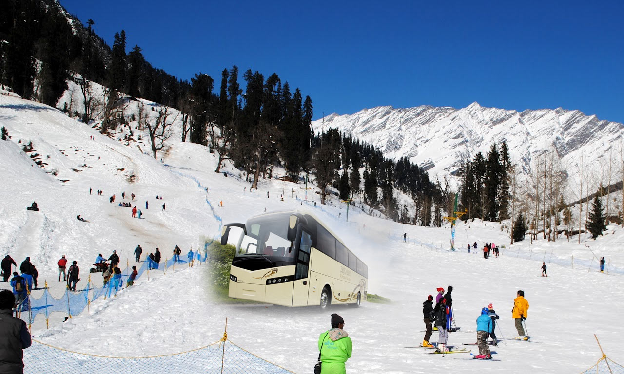 Delhi To Manali Tour Package By Bus